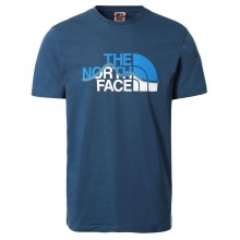 Camiseta The North Face Mount Line Monterey Blue