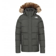 Chaqueta W The North Face Gotham Taupe Green