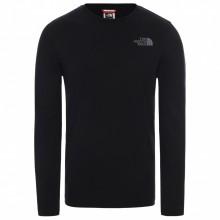 Camiseta The North Face LS Easy Negro