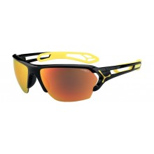 GAFAS CEBE S-TRACK LARGE SHINY BLACK YELLOW