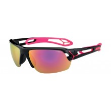 GAFAS CEBE S-TRACK MEDIUM SHINY BLACK MAGENTA