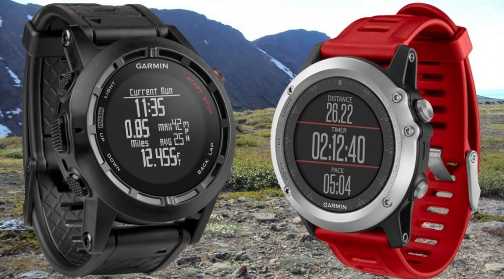Garmin Fenix 3 Red